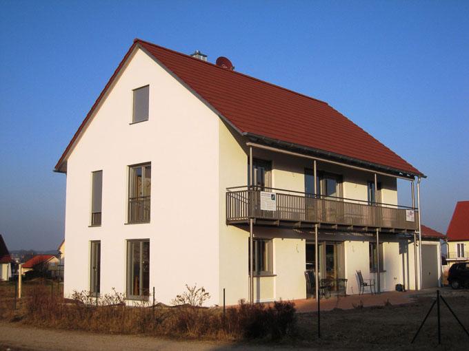 Neubau EFH, Erdweg