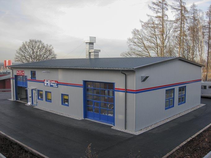 Neubau Gewerbehalle, Sulzemoos
